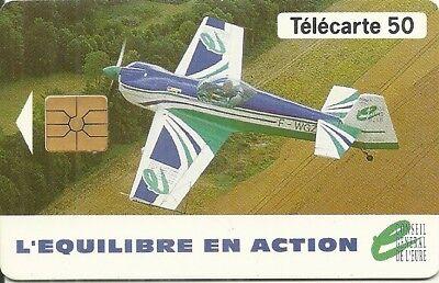 RARE / CARTE TELEPHONIQUE - AVION VOL AVIATION / PHONECARD FRANCE