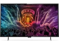 "PHILIPS 49"" 4K ULTRA HD SMART LED TV (49PUH6101)"