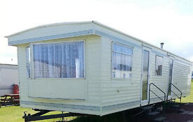 8 Berth Caravan Hire Northumberland Sandy Bay Holiday Park Resorts to let For Rent