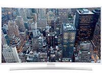 "SAMSUNG UE55JU6510 55"" Ultra HD 4K Smart Curved LED TV Freeview HD in White 1YR Warranty"