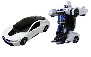 Brand New Transformable Radio Controlled R/C Robot Car