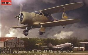 RODEN-1-48-Beech-manualidades-uc-43-staggerwing-442