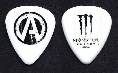 Atreyu Travis Miguel Monster Energy Concert-Used White Tour Guitar Pick