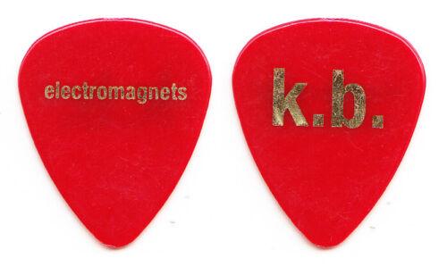 Eric Johnson Electromagnets Kyle Brock Red Guitar Pick - 2018/2019 Reunion Tour