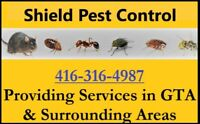 Pest Control, Rat mice, Bed bugs and cockroaches Removal