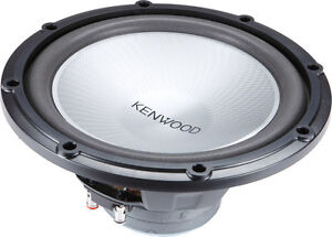 """Kenwood Performance Series 12"""" 4-ohm component car subwoofer"""