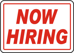 Now Hiring COOKS and restaurant staff