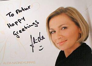 ALIDA KURRAS - Autogramm , Autograph_1 - <span itemprop=availableAtOrFrom>Olsztyn, Polska</span> - ALIDA KURRAS - Autogramm , Autograph_1 - Olsztyn, Polska