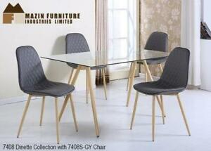 MID CENTURY MODERN DINETTE COLLECTION DINNING SET ON SALE - CALL 905-451-8999(BD-6)