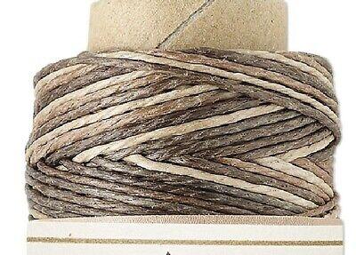 (100 Foot Spool Brown Mix 3Ply 0.5mm 10lb Test Hemp Cord)