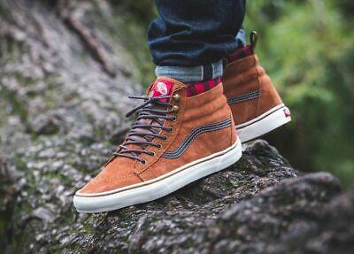 Vans SK8-HI MTE SKATE Shoes Size Men's 8.5 GLAZED GINGER