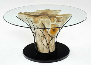 Hand crafted tables by Deep Forest furnishings