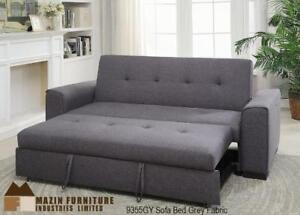 Sofa Bed in Grey Fabric (BD-1672)