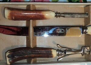 """SHEFFIELD"" - 3 PCE. CARVING SET - STAINLESS STEEL - ENGLAND Stratford Kitchener Area image 4"