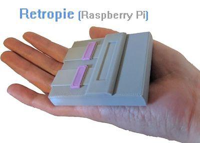 Raspberry Pi Zero SNES case for Retropie