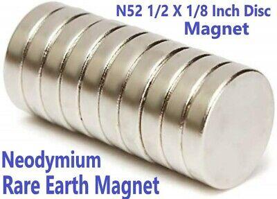 N52 Neodymium Rare Earth Disc Magnets 12 25 50 100 Pieces 12 X 18 Inch