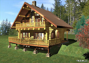 HANDCRAFTED & MILLED LOG CABINS  SK. /  LEGACY LOG HOMES INC.
