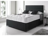 Fast Delivery Factory Direct Double Bed Single Bed King Bed Orthopaedic Mattress Fabric Headboard
