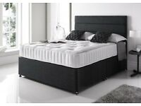 Same Day Delivery BRAND NEW Double Bed Single Bed 25cm Memoryfoam Mattress Free Headboard