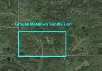 Miquelon Lake 4.17 acre, Treed and private- cheap, cheap, cheap.