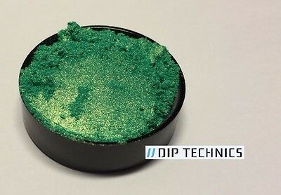 (Green Gold Colorshift Flip Pearl Pigment Powder for Paint Dip plastidip 5g 25g)