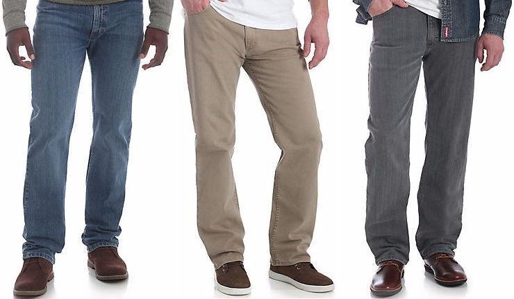 Wrangler 5 Star Regular Fit Jean 4-way Flex Mens - Size R...