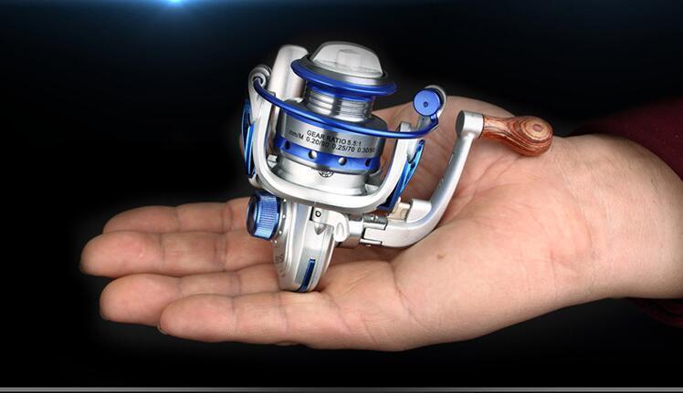 10BB Ball Bearing Left Right Mini Freshwater Fishing Spinning Reel 5.5:1 BM150