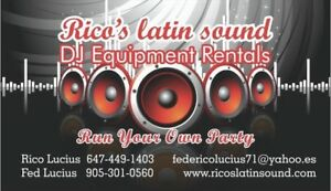 Speakers and mics for rent ( run your own party)