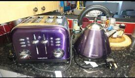 Morphy Richards Kettle & Toaster set