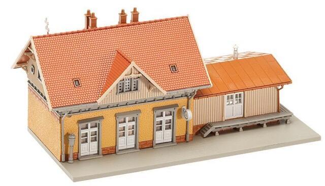 Faller N 212117 Bahnhof 135x78x60mm Kleinstadtbahnhof NEU&OVP