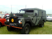 landrover series 3 ffr 24 volt original condition