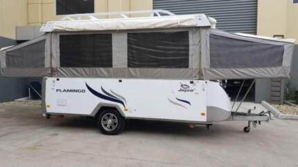 JAYCO FLAMINGO WIND UP CAMPER 2012- GRAB IT BEFORE EASTER