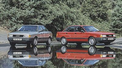 Legte als Vorgänger des A4 den Grundstein für den Erfolg von Audi: der Audi 80