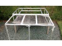 Internal Storage platform for LAnd Rover Defender 110 Station Wagon