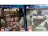PlayStation 4 games call of duty legacy edition and Call Of Duty WW2