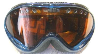 Skibrille Kinder Snowboardbrille Ski Snowboard S2 Blau (B-square) ()