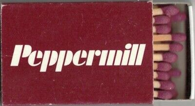 PEPPERMILL-HOTEL-CASINO-RENO-NEVADA- MATCHBOX-TWO INCHES WIDTH-FULL