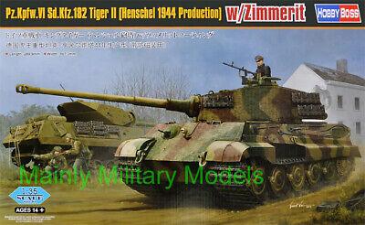 HOBBYBOSS 1/35 Pz.Kpfw.VI TIGER II (HENSCHEL 1944 PRODUCTION) with ZIMMERIT