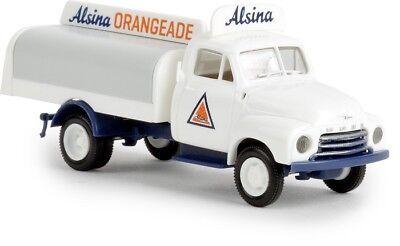 Brekina 35331 - 1/87 Opel Blitz Getränkeaufbau - Alsina Orangeade - Neu