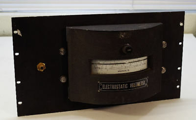Sensitive Research 10kv Electrostatic Voltmeter Esh 9477 Tested