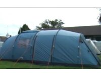Vango Tigris 800 8 person family tent with extension