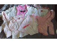0-3 Months baby girls clothes bundle
