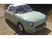 NISSAN FIGARO Collectible limited edition fun reliable convertible coupe automatic