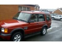 land rover td5 7 seater diesel good 4x4