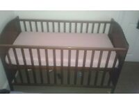 I for sale my baby bed with changing table