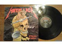 Metallica – Harvester Of Sorrow, VG, 12 inch single.