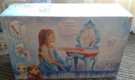 NEW. Frozen Table Crystal Kingdom Vanity.