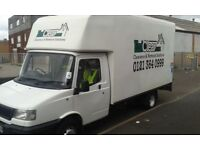 low mileage 3.5t Luton for sale with tailift removal and clearance business