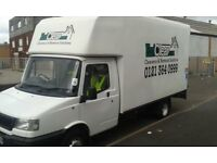 Reliable solid 3.5t LDV Luton with tailift