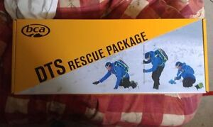 Transciever. DTS avalanche rescue package